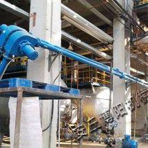 石膏粉管鏈輸送機 無塵密閉管鏈機廠家