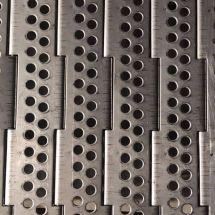 不銹鋼沖孔烘干機鏈板 清洗鏈板