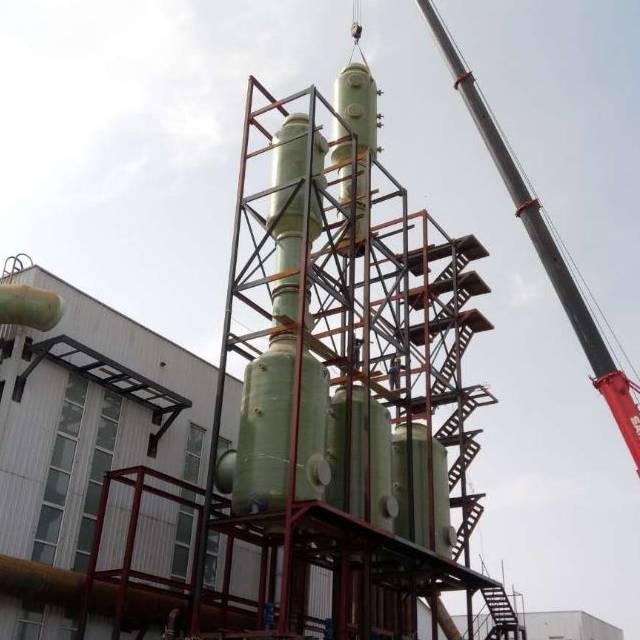 鼓风炉气动乳化脱硫塔湖南亦辉环保设备有限公司